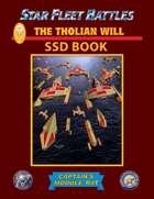 Star Fleet Battles: Module R4T - The Tholian Will SSD Book (B&W)