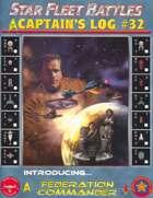 Captain's Log #32