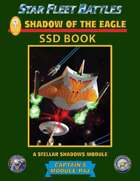 Star Fleet Battles: Module R4J - Shadow of the Eagle SSD Book (B&W)
