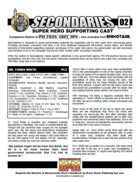 Secondaries #02 PSI Files Edition (M&M3e)