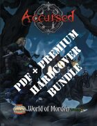 Accursed: World of Morden Premium Hardcover [BUNDLE]