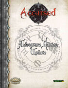 Accursed Adventure Edition Update