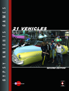 21 Vehicles 2nd Edition