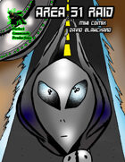 Area 51 Raid Mini Comix