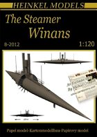 1/120 The Steamer Winans Paper Model