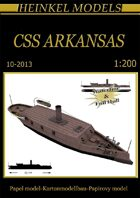 1/200 CSS Arkansas Paper Model