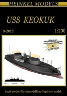 1/200 USS Keokuk Paper Model