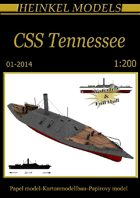 1/200 CSS Tennessee paper model
