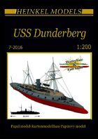 1/200 USS Dunderberg - Ironclad - Paper Model