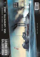 1/200 USS Lafayette - Paper Model