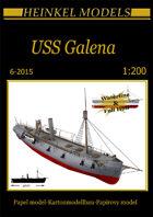 1/200 USS Galena- Paper Model
