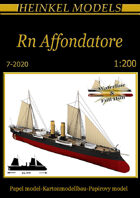 1/200 RN Affondatore Paper Model