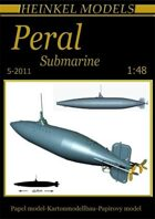 1/48 1888 Peral Submarine Paper Model