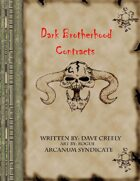 Chaos Contracts: The Dark Brotherhood Contracts