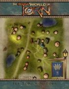 Shady Downs: A Torn World Halfling Town Map