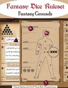 Fantasy Dice Ruleset for Fantasy Grounds II