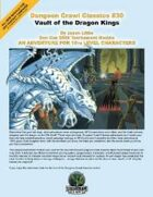 Dungeon Crawl Classics #30: Vault of the Dragon Kings