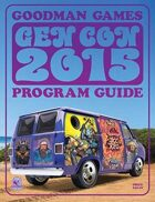 Goodman Games Gen Con 2015 Program Guide