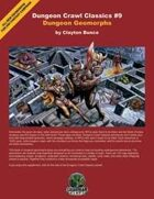 Dungeon Crawl Classics #9: Dungeon Geomorphs