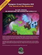 Dungeon Crawl Classics #42: Secret of the Stonearm