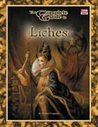Complete Guide to Liches 3.5 edition