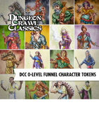 VTT Character Token Pack: DCC 0-Level Funnel Character Token Pack