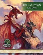 DM Campaign Record (4E)