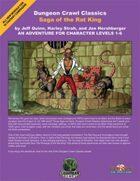 Dungeon Crawl Classics: Saga of the Rat King