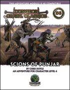 Dungeon Crawl Classics #56: Scions of Punjar