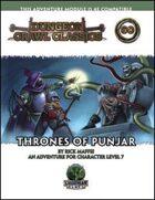 Dungeon Crawl Classics #60: Thrones of Punjar
