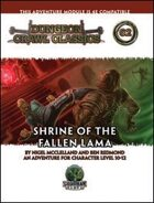 Dungeon Crawl Classics #62: Shrine of the Fallen Lama