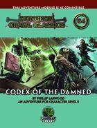 Dungeon Crawl Classics #64: Codex of the Damned