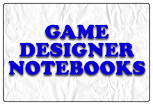Game Designer Notebooks