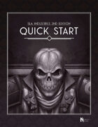 SLA Industries 2nd Edition: Quick Start