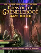 Fantastic Adventures: Ruins of the Grendleroot Art Book and Map Pack