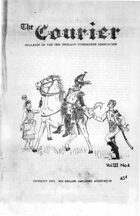 The Courier: Bulletin of the New England Wargamers Association V3 #4 1971