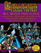Darkfast Classic Fantasy Set Seven: High Elves