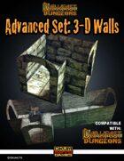 Darkfast Dungeons: Advanced Set_3D Walls
