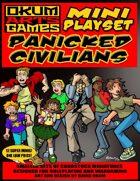 Mini Playset - Panicked Civilians