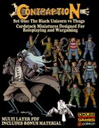 Contraption Set One: The Black Unicorn vs Thugs