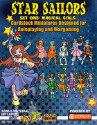Star Sailors Set One: Magical Girls