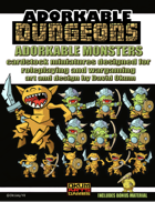 Adorkable Dungeons: Monsters Set One