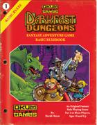 Darkfast Dungeons: Fantasy Adventure Game Basic Rulebook
