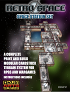 Retro Space Set Ten: Space Station Set
