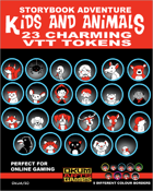 Storybook Adventure: Kids and Animals VTT Tokens