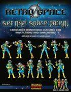 Retro Space Set One: Space Patrol