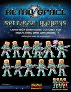 Retro Space Set Three: Invaders
