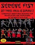 Serene Fist Set Three: Ninja vs Samurai 2