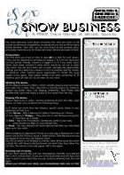 Snow Business Card Game
