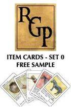 Item Cards Set 0: Free Sample